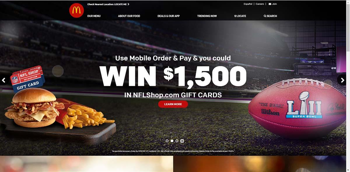 mcdonalds-website