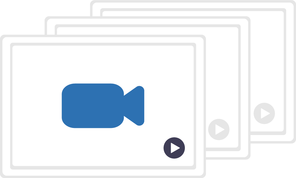 Graphic image of youtube videos